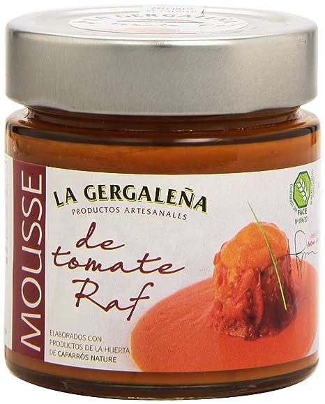 La Gergaleña Productos Artesanales Mousse de Tomate Raf - 245 gr