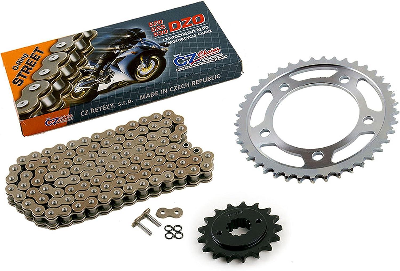 2003 2004 2005 Fits Honda VT750 Shadow CZ DZO O-Ring Chain /& Sprocket Kit 17//41 122L