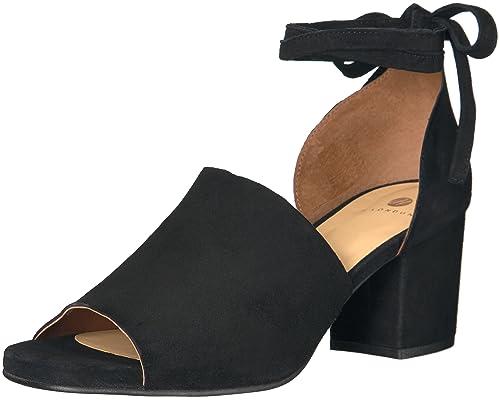 Hudson Metta Suede con Cinturino alla Caviglia Donna Brown Tan 40 EU