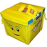 LEGO A1354XX - Alfombra de juegos y caja de almacenaje 2 en 1 con diseño de cabeza