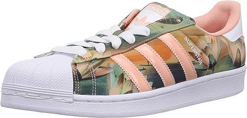 adidas Originals Damen Superstar Sneaker, Pink (Dust Pink