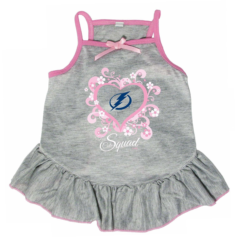 Hunter 4236-20-5700 HNL Tampa Bay Lightning Too Cute Pet Dress, Small