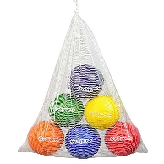 Amazoncom Gosports Strong Skin Foam Playground Dodgeballs 6