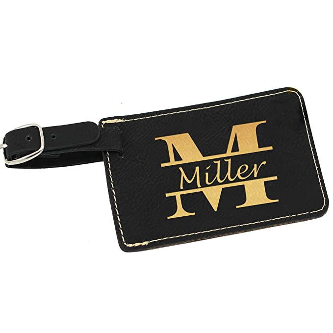 3ce0f7ab0a0 Amazon.com  Personalized Luggage Tags - Engraved Monogrammed Custom ...