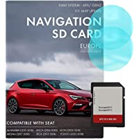 Seat Navigation AS SD-kaart   Nieuwste update 2020   Seat Navigation SD-kaart voor Europa   Seat Navi System 6P0/MIB2