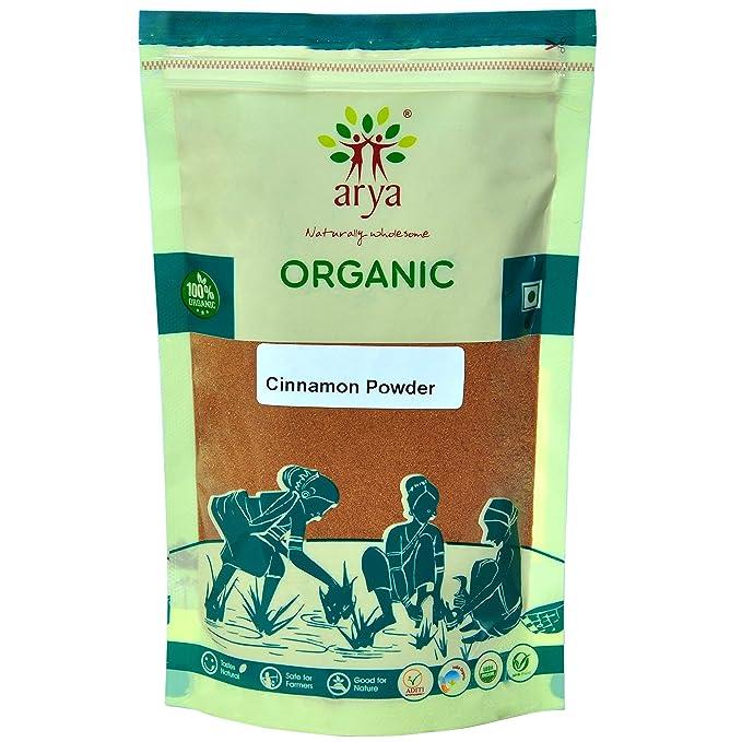 Arya Farm Organic Cinnamon Powder, 100g Cinnamon at amazon