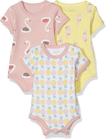 Amazon Exclusiva: Care Body Bebé-Niñas pack de 3 o pack de 6: Amazon.es: Ropa y accesorios