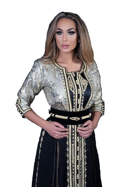Caftan TAKCHITA Byzantin Robe Orientale Marocaine pour soirée de Mariage 31aa4870c0e