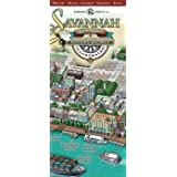 Savannah Historic District Illustrated Map.
