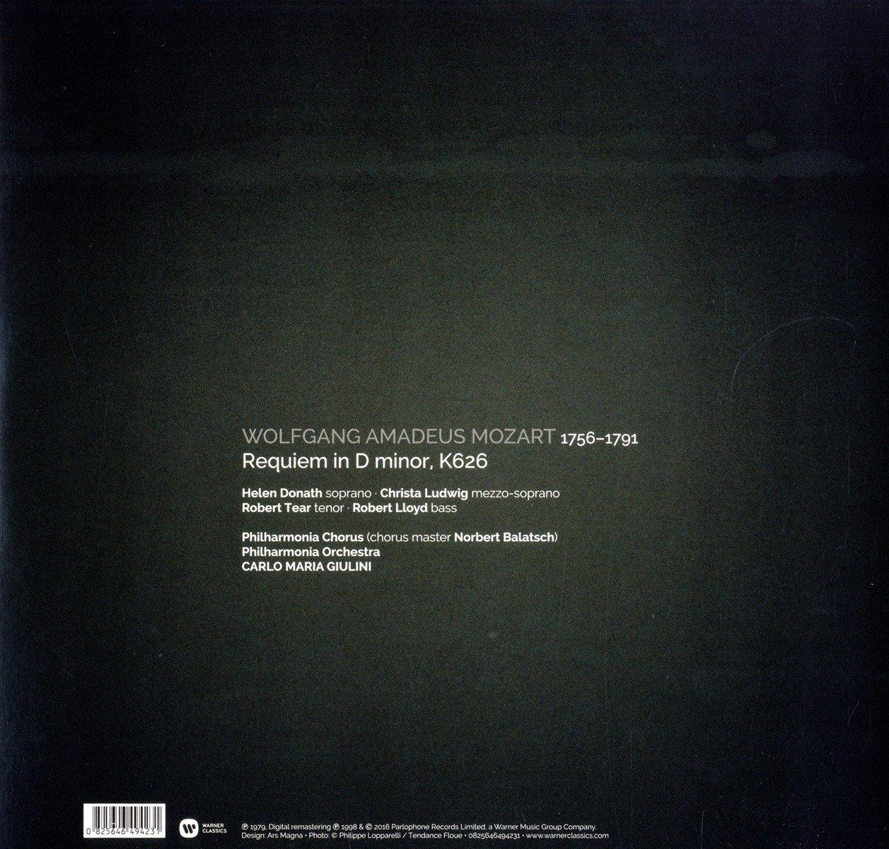 Mozart: Requiem : Carlo Maria Giulini: Amazon.es: Música
