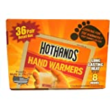 HotHandS® Hand Warmers 36 Pairs