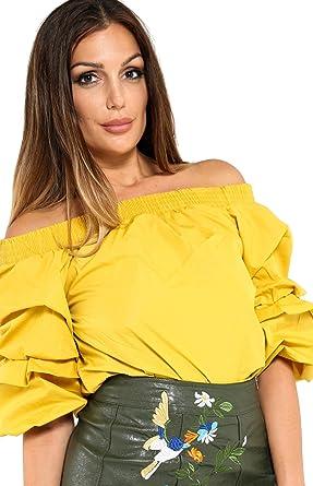 Praslin Clothing - Camisas - para mujer amarillo Mostaza 40 ...