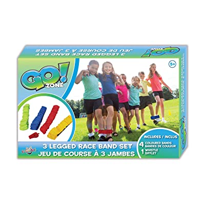 Danawares Go! Zone - 3 Legged Race Game Set Age/Grade 5+: Toys & Games