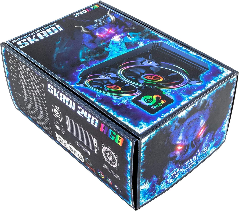 Talius Kit refrigeracion liquida Skadi-240 RGB (Intel-AMD): Amazon.es: Informática