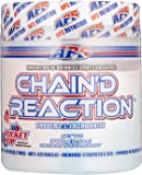 Chain'd Reaction BCAA Powder - Muscle Building Amino Acid Recovery Aid for More Strength & Size, Rocket Pop, 300 Gram