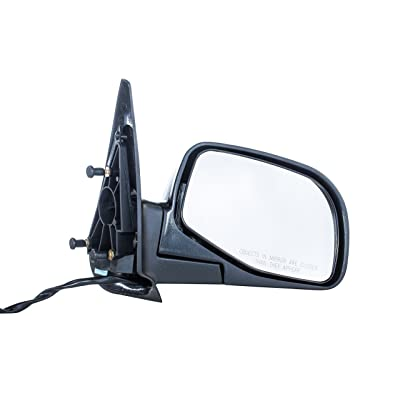 Dependable Direct Right Passenger Side Textured Folding Door Mirror for 98-05 Ford Ranger Parts Link # FO1321206: Automotive