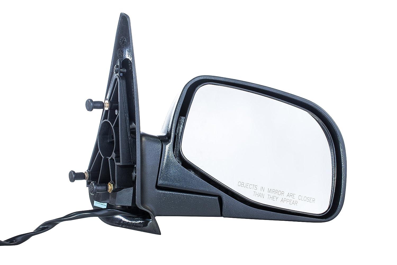 Dependable Direct Textured Black Right Passenger Side Door Mirror Ford Ranger, Mazda Pickup B2300 B2500 B3000 B4000 (1996 1997 1998 1999 2000 2001 2002 2003 2004 2005)