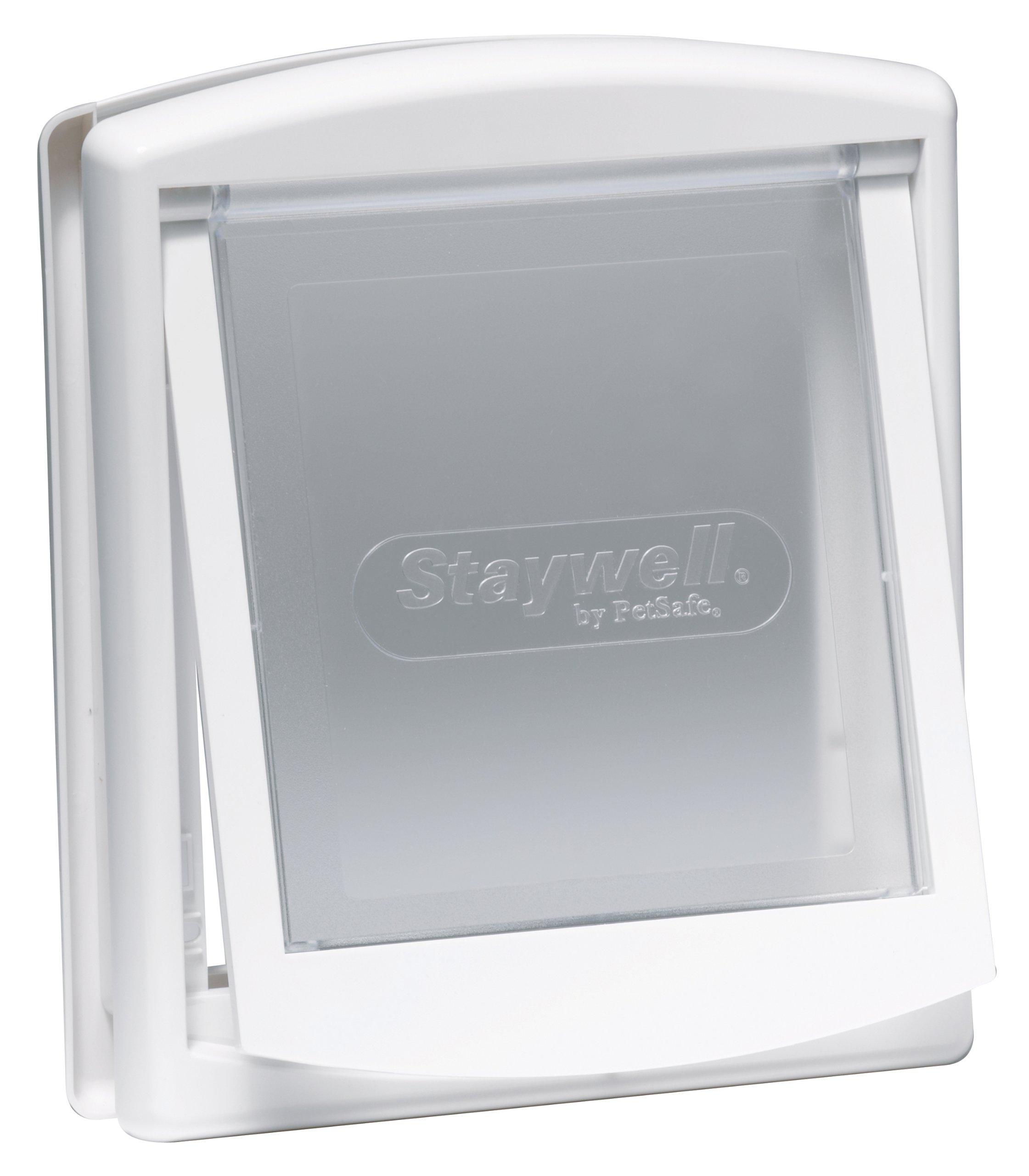 Staywell Original 2-Way Pet Door, Small, White