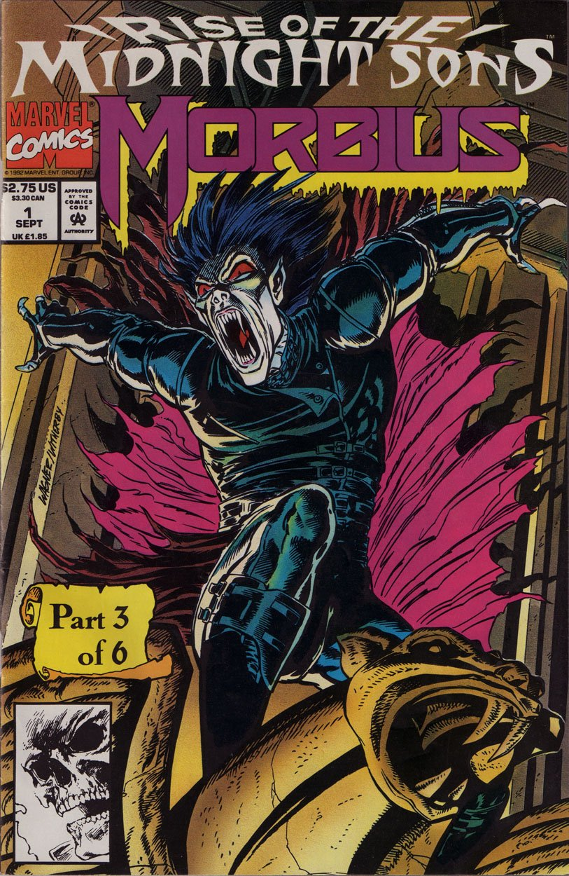 Rise of the Midnight Sons: Morbius - Vol. 1, Nos.1 thru 4 (Morbius ...