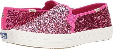 e5b263310455 Keds x kate spade new york Women s Double Decker Pink Glitter 11 ...