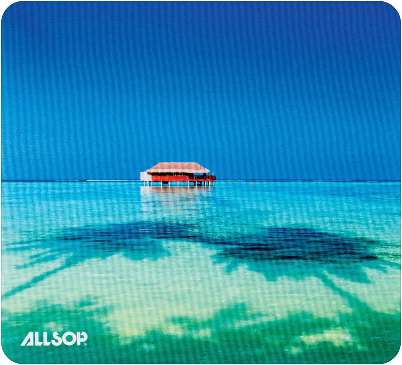 ALLSOP 31625 Naturesmart Mouse Pad Topical Maldives