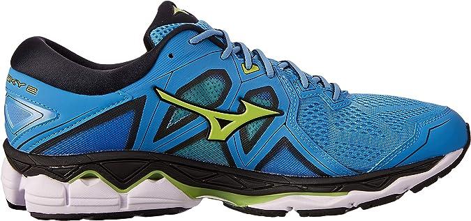 Mizuno Wave Sky 2 Azul J1GC1802 37: Amazon.es: Zapatos y complementos
