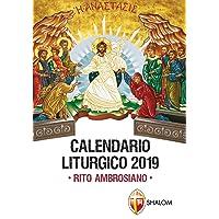 Calendario Liturgico 2019. Rito ambrosiano