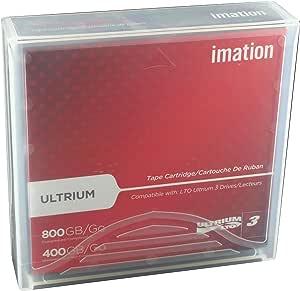 Imation IMN17532 LTO Ultrium 3 Tape Cartridge