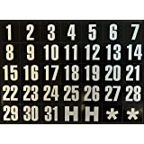 Magnetic Calendar Dates Indicators