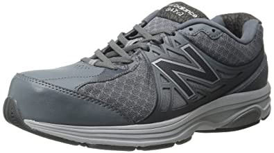 New Balance Men's MW847V2 Walking Shoe, GreyWhite,