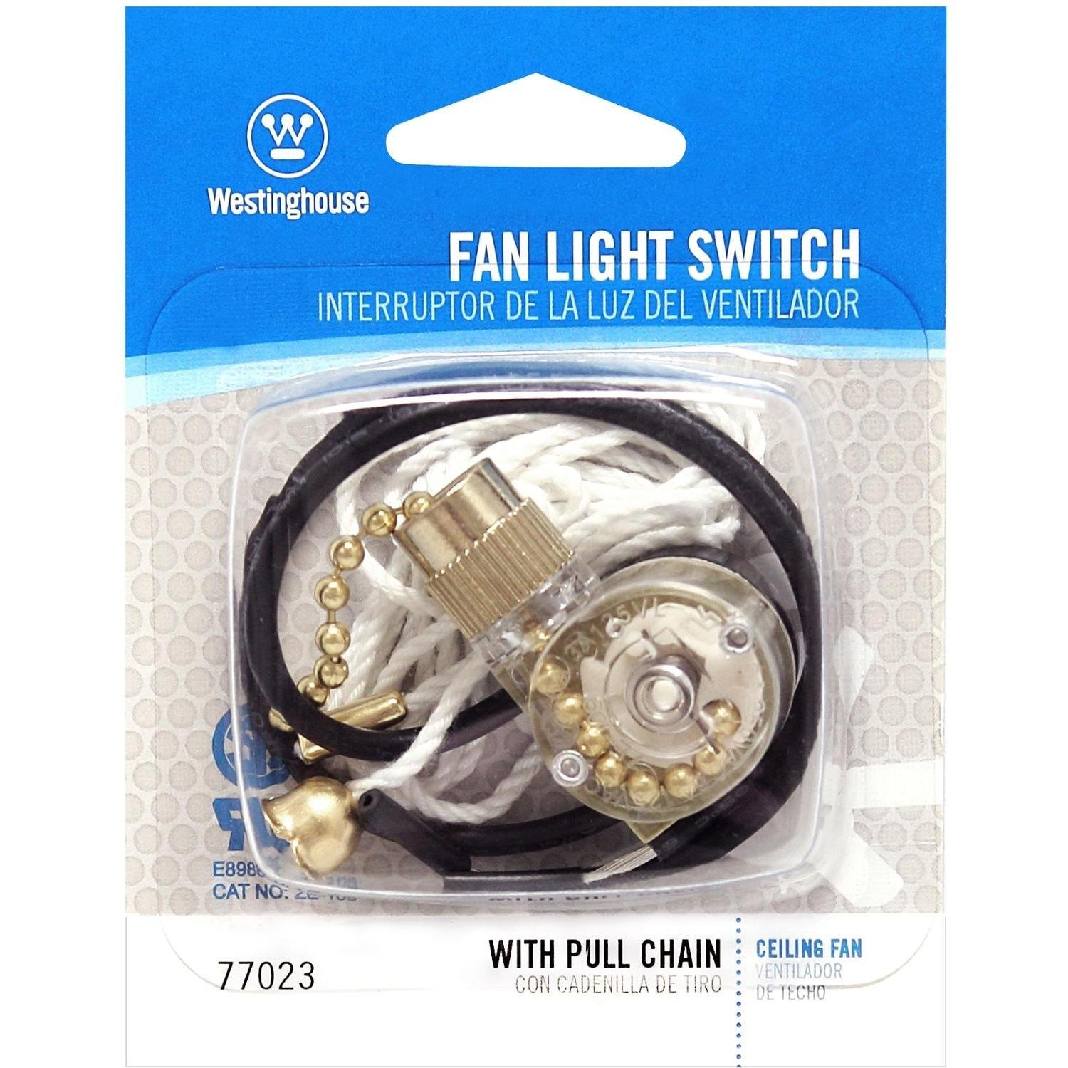 Westinghouse 7702300 Fan-Light Switch & Pull Chain - Ceiling Fan Pull  Chains - Amazon.com