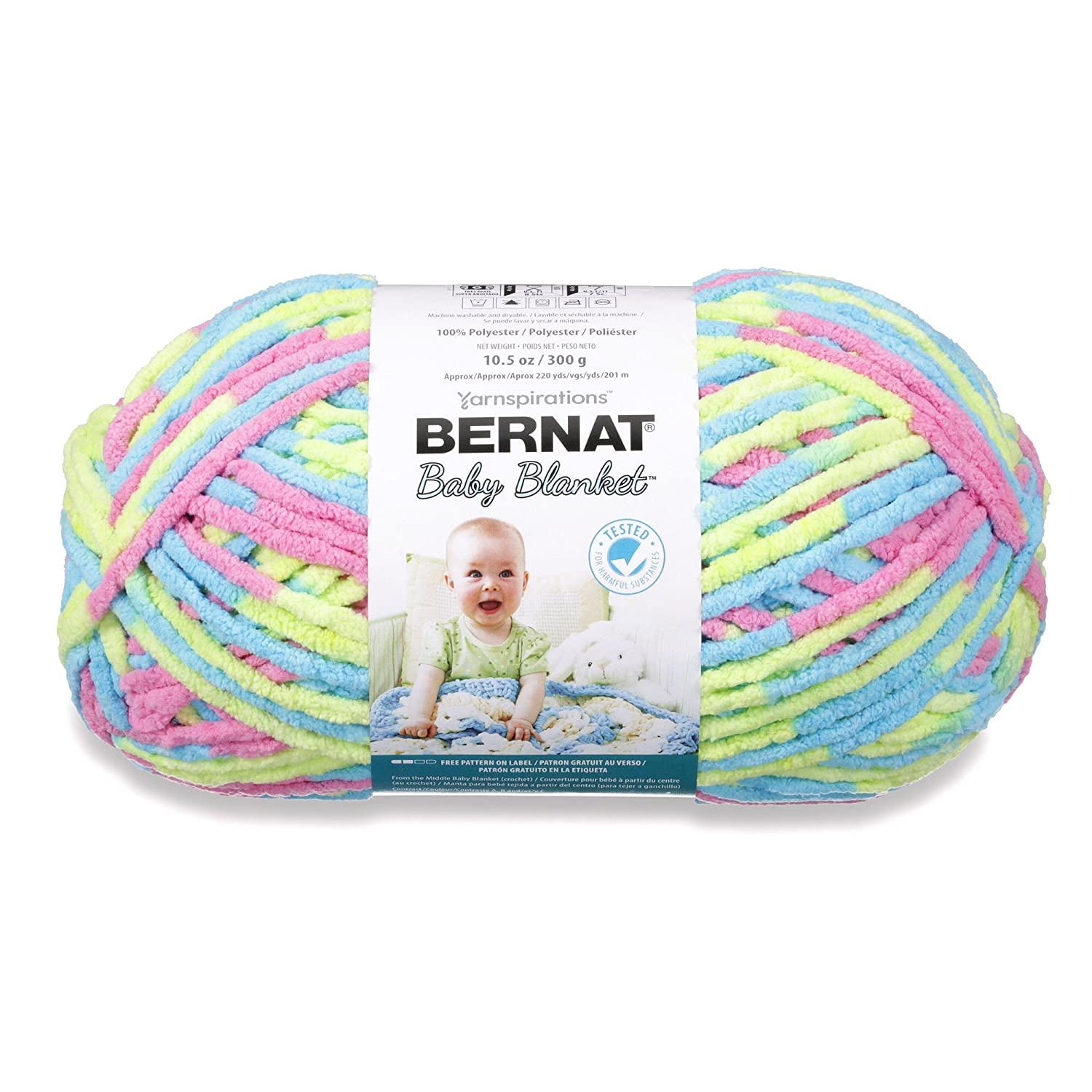 BERNAT BABY BLANKET -300G- JELLY BEANS: Amazon.co.uk: Kitchen & Home