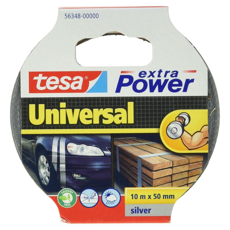tesa 46120000100 Multi Purpose Repairing Gaffer Duct Tape, 25 m x 48 mm - Black 04612-00001-00