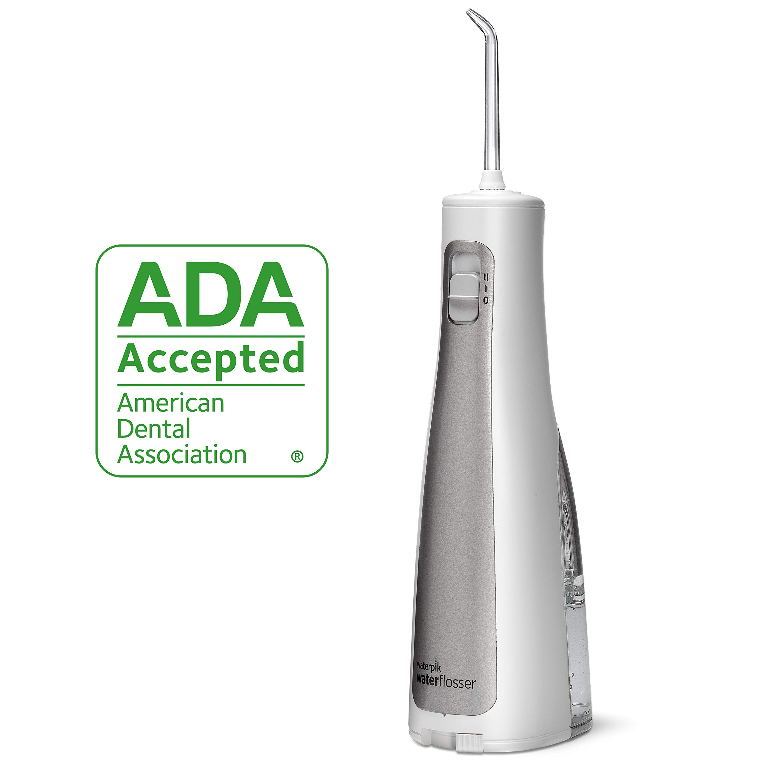 Waterpik Cordless Freedom ADA Accepted Oral Irrigator, Battery Operated and Portable for Travel and Home, WF 03 by Waterpik