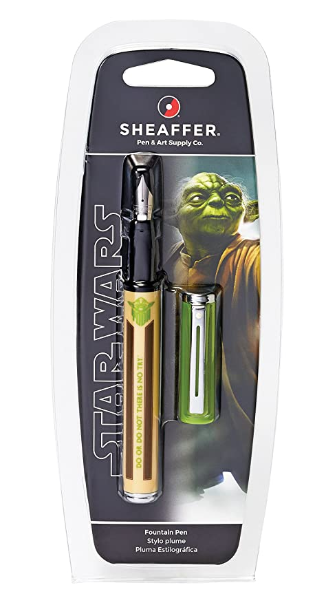 Sheaffer Star Wars Yoda Pop Fountain Pen in Retail Packaging (E0921051S)