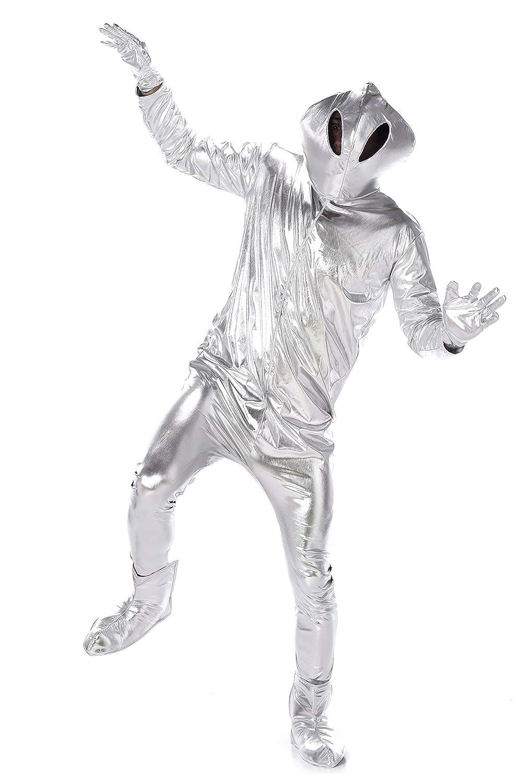 Generique - Disfraz de alienígena Hombre: Amazon.es: Juguetes y juegos