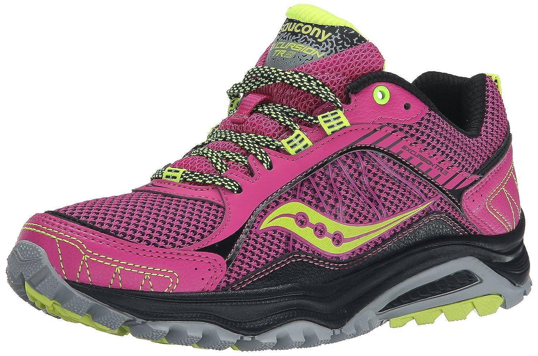 Yilaiyiqu_1 Popular Women's Grid Excursion TR9 Trail Running Shoe Pink/Grey/Citron6.5 B(M) US New Style
