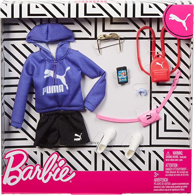 FITS CURVY BARBIE AS WELL BLUE OVERSIZED PUFFER JACKET KEN DOLL CLOTHES