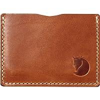 Fjällräven Unisexs Övik kreditkortsfodral, läderkonjak, en storlek