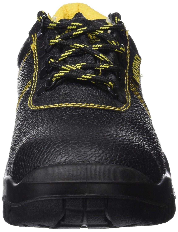 Wolfpack 15018125 Zapatos de seguridad de piel, talla 41, color negro: Amazon.es: Bricolaje y herramientas