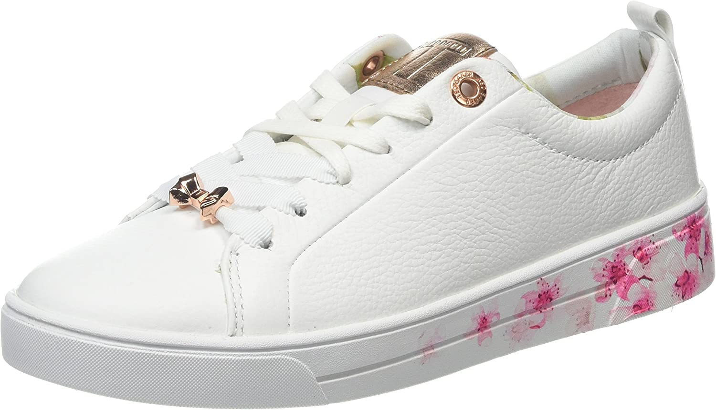 Ted Baker Womens White Kelleip Sneakers