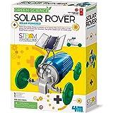 4M 3782 Green Science Solar Rover Kit DIY Solar Power, Eco-Engineering Stem Toys Educational Gift for Kids & Teens, Boys & Gi