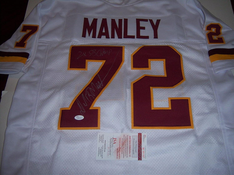 online store e78b5 a7f52 Dexter Manley Autographed Jersey - 2x Sb Champs Js coaa ...