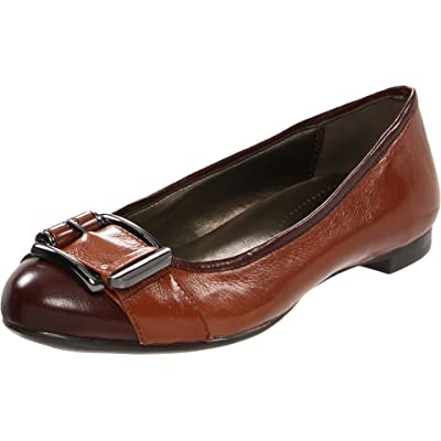Naturalizer Women's N5 Contour Orion, Brown, 6 M US | Flats