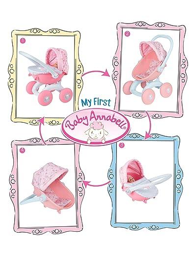 Amazon.es: Baby Annabell My First Pram 4 en 1 carrito para muñecas: Juguetes y juegos