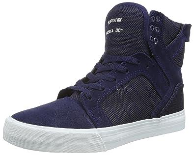 439e24030c Supra Men's Skytop Navy Two-Tone/White Sneaker Men's 9.5, ...