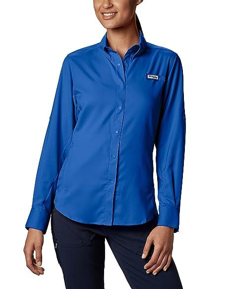 8bc3b38fb7d Amazon.com  Columbia Sportswear Women s Tamiami II Long Sleeve Shirt ...