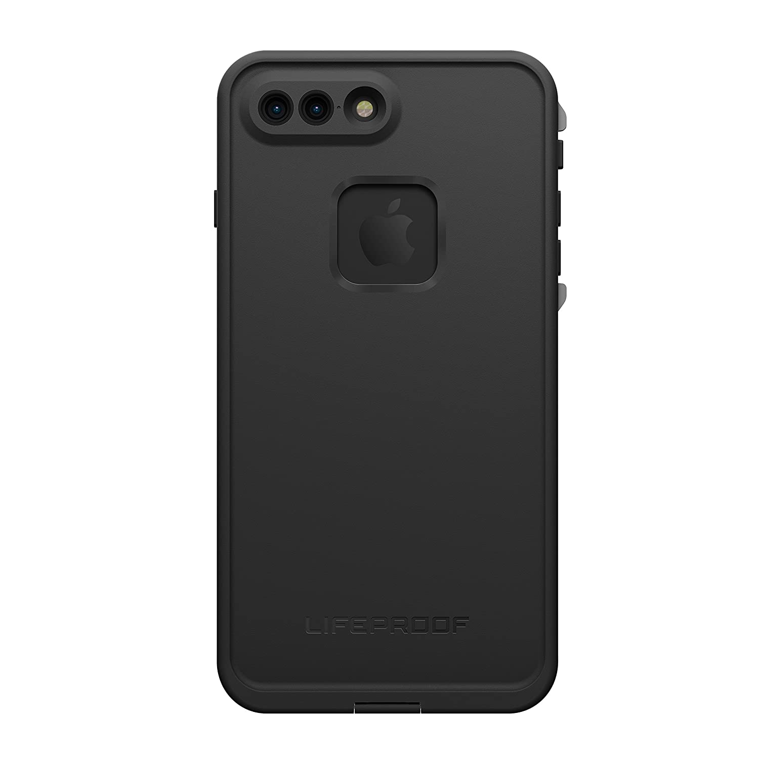 cheap for discount ed9a1 51b83 Lifeproof FRĒ SERIES Waterproof Case for iPhone 7 Plus (ONLY) - Retail  Packaging - ASPHALT (BLACK/DARK GREY)