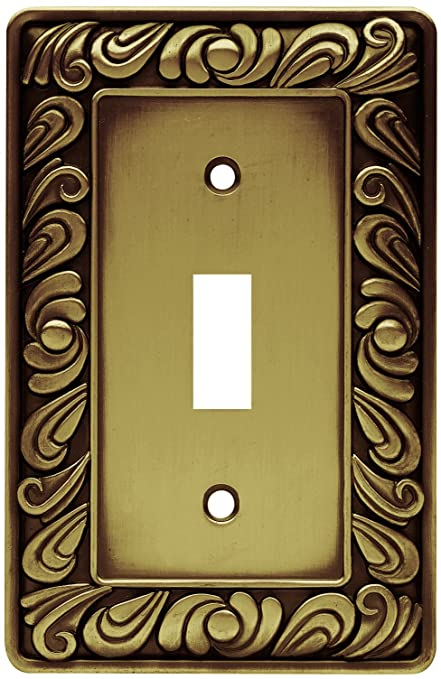 Franklin Brass 64049 Paisley Single Toggle Switch Wall Plate/Switch ...