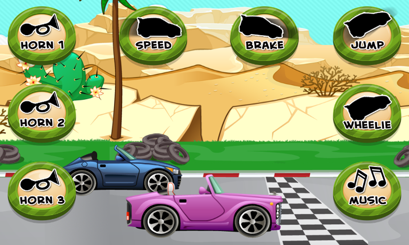Car Race Game for Toddlers and Kids: Amazon.es: Appstore